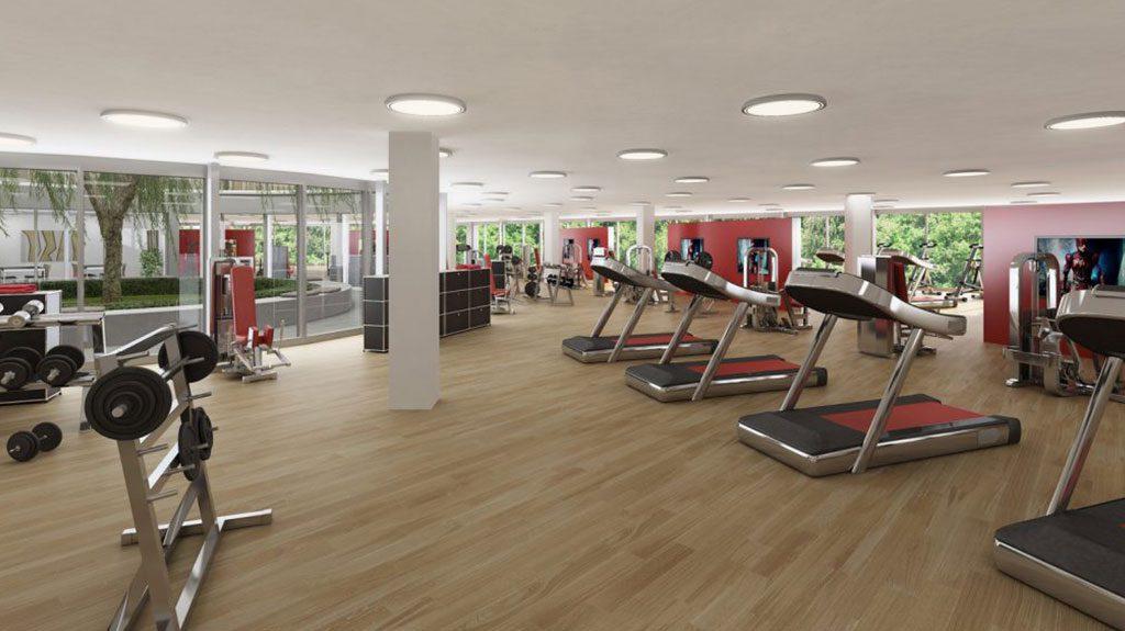 Fitness studio zu vermieten