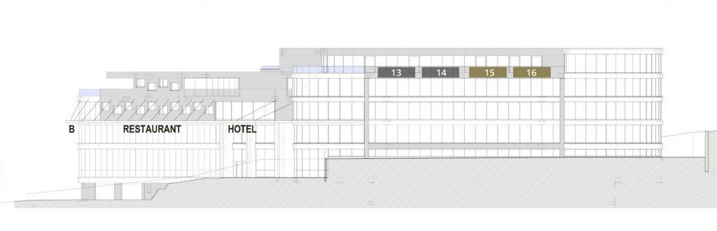 Aussenwerbung plan   Halten Business Center Pfäffikon Schwyz